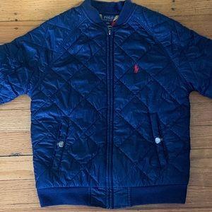 Boys Ralph Lauren polo quilted puffer coat